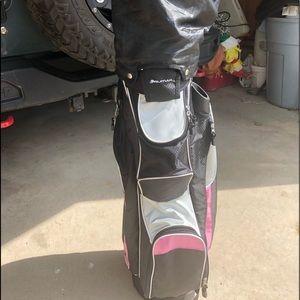 Ladies Rumar Golf Bag w/head covers